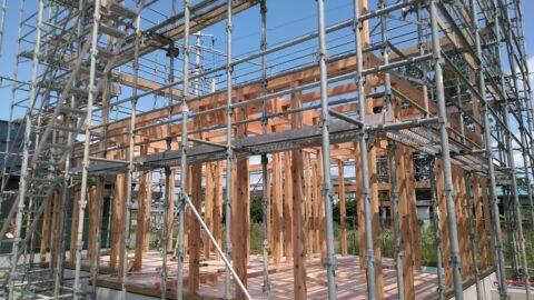 【A様邸 新築工事】建て方🏠